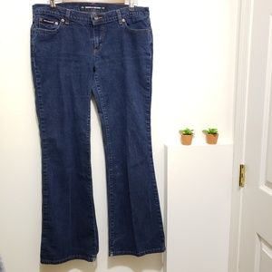 DKNY Times Square Flare Jeans, Size 13